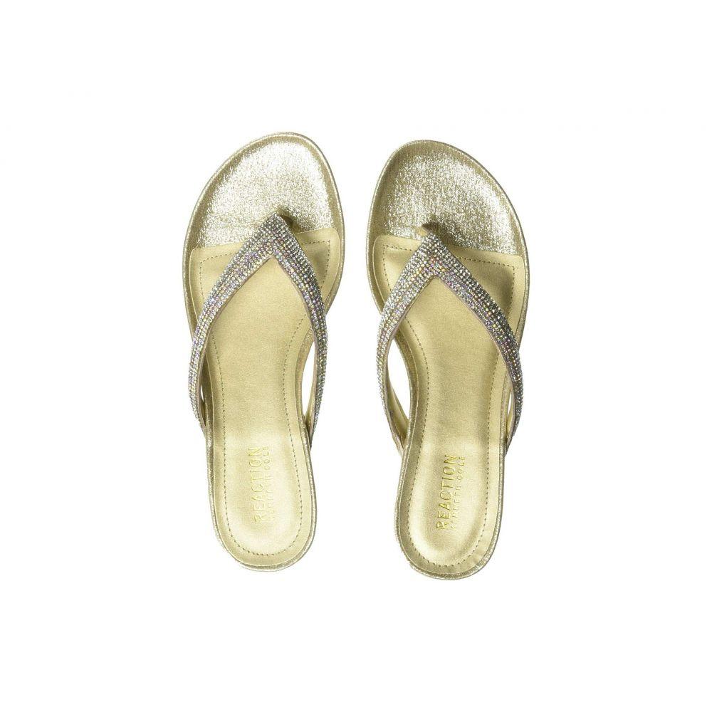 ケネス コール Kenneth Cole Reaction レディース シューズ・靴 サンダル・ミュール【Frost Jewel】Soft Gold Metallic Fabric