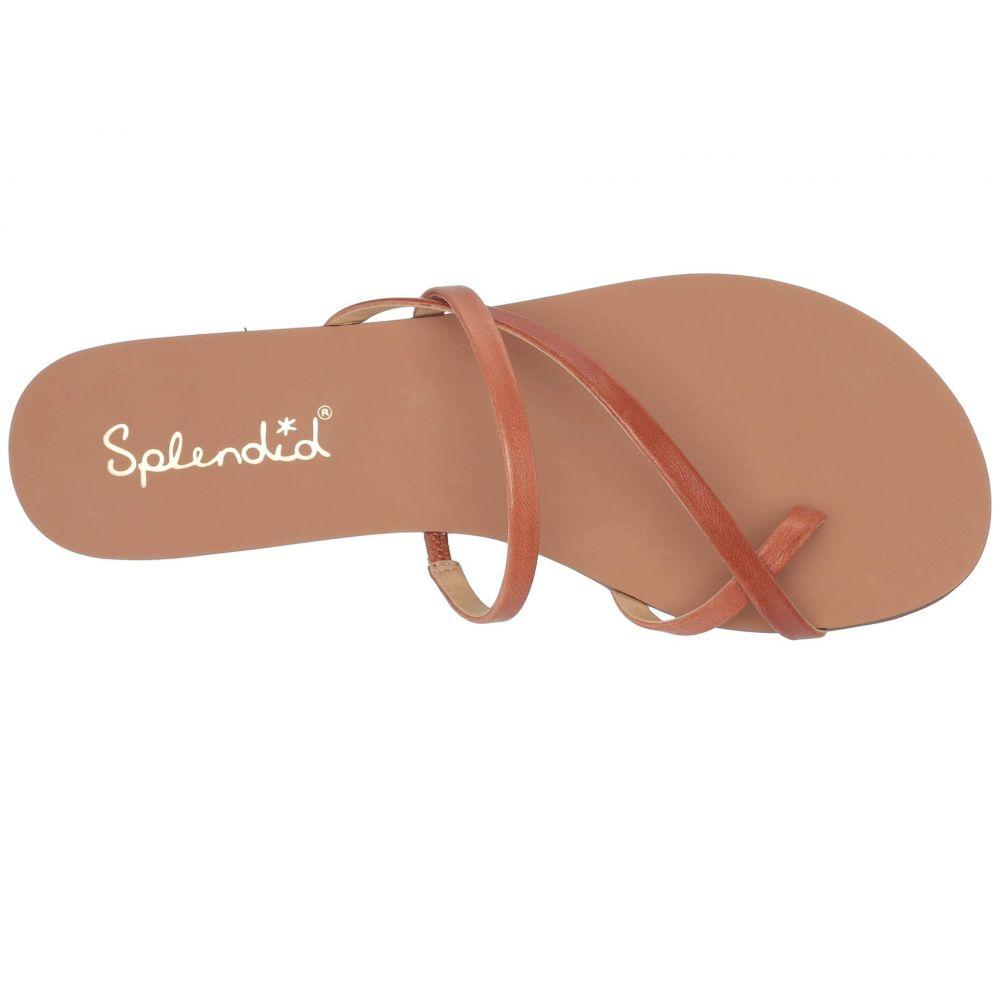 スプレンディッド Splendid レディース シューズ・靴 サンダル・ミュール【Trenton】Cognac Goat Leather