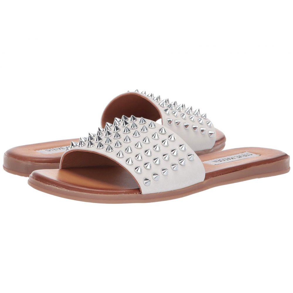 スティーブ マデン Steve Madden レディース シューズ・靴 サンダル・ミュール【Farryn Flat Sandals】White