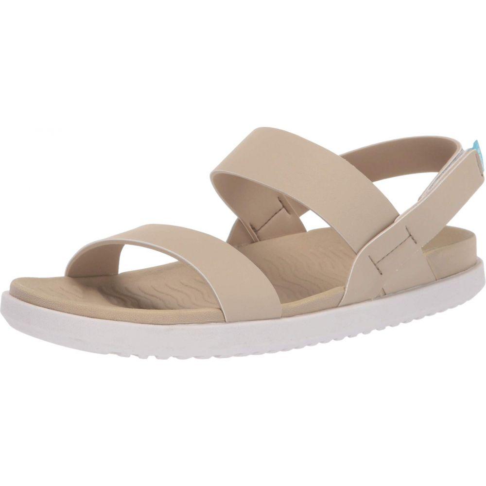 ネイティブ シューズ Native Shoes レディース シューズ・靴 サンダル・ミュール【Ellis】Flax Tan/Cloud Grey