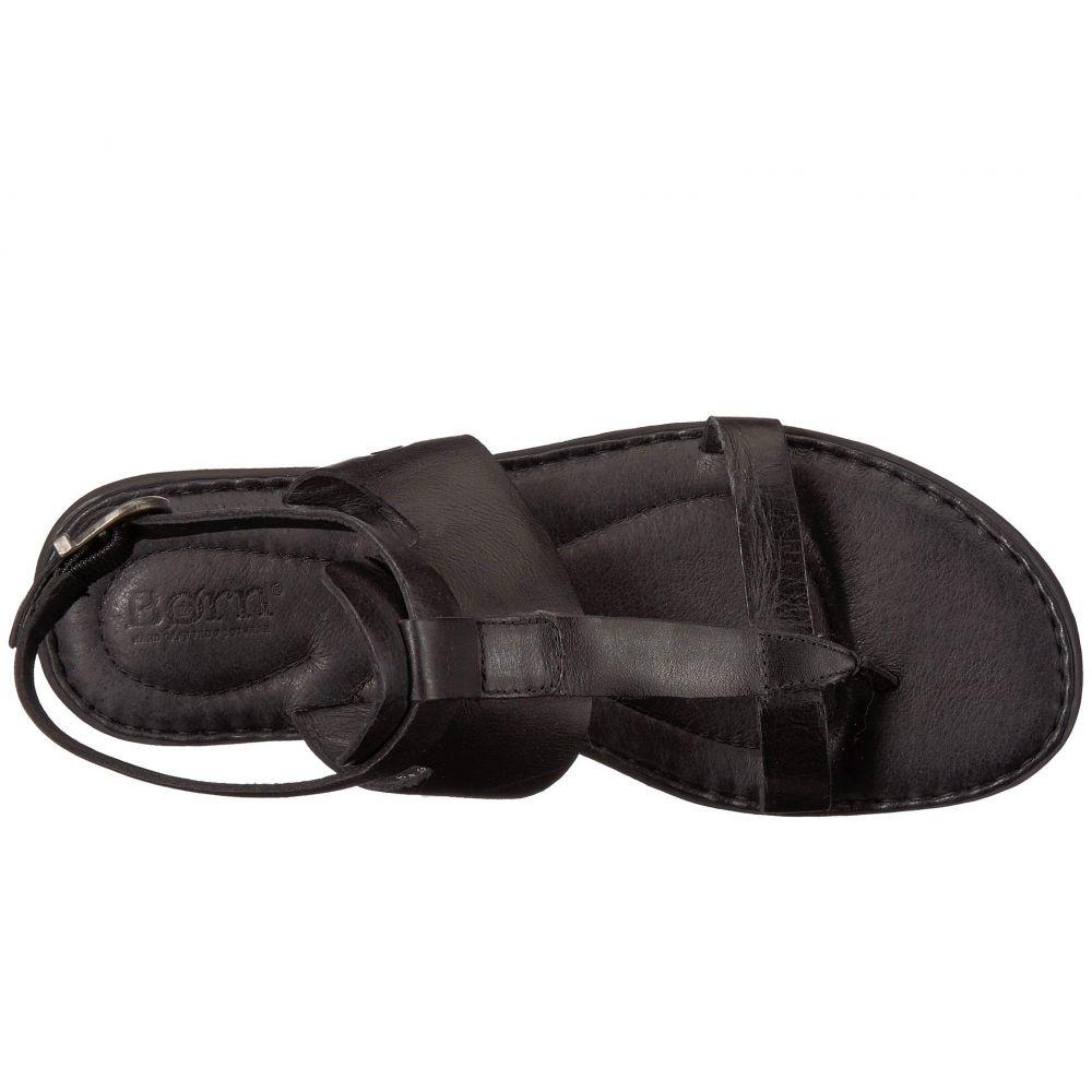 ボーン Born レディース シューズ・靴 サンダル・ミュール【St. Helens】Black Full Grain Leather