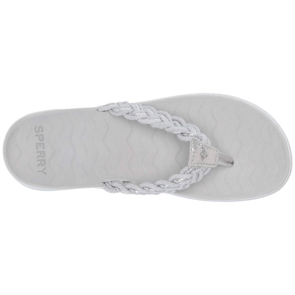 スペリー Sperry レディース シューズ・靴 ビーチサンダル【Adriatic Thong Braided】Grey/Silver