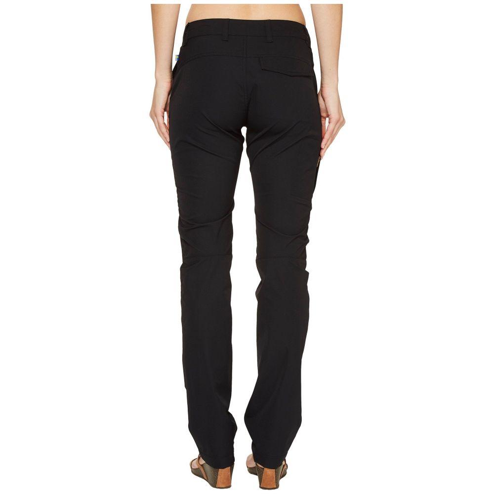 フェールラーベン Fjallraven レディース ボトムス・パンツ【Abisko Stretch Trousers】Black
