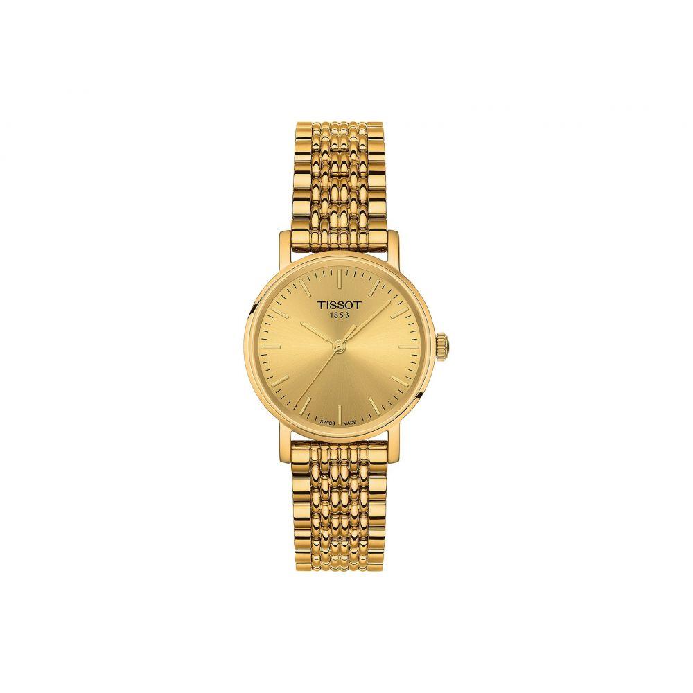 ティソ Tissot レディース 腕時計【Everytime Small - T1092103302100】Silver/Yellow Gold