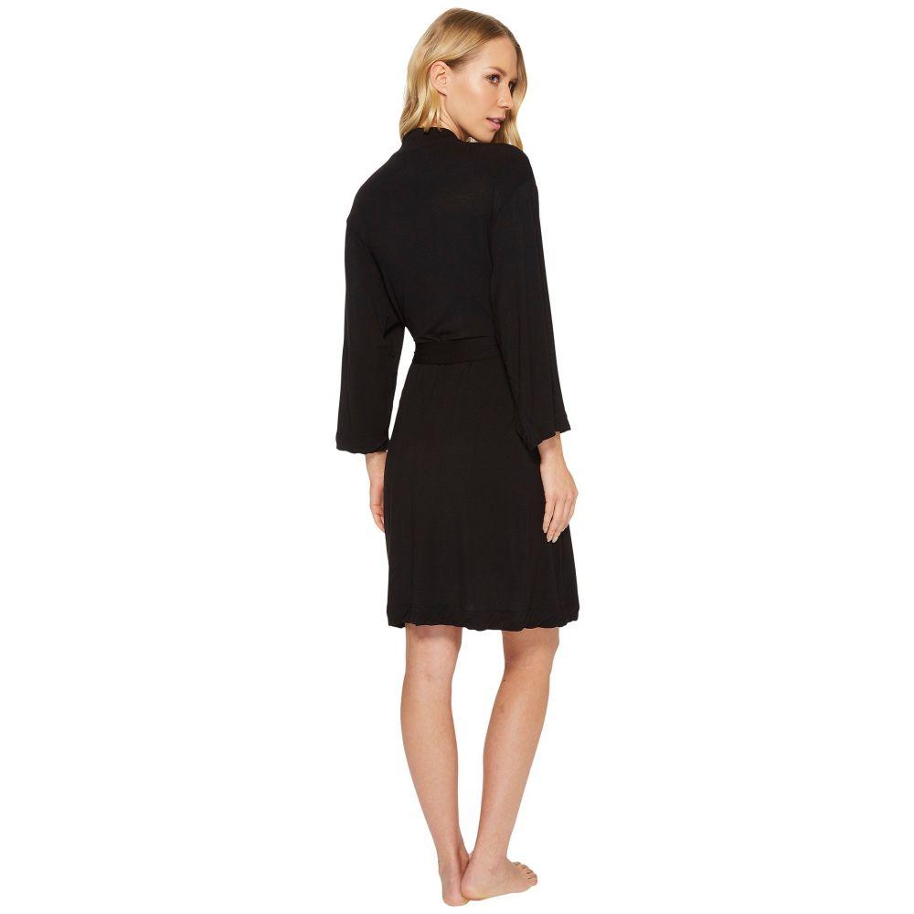 ダナ キャラン ニューヨーク Donna Karan レディース インナー・下着 ガウン・バスローブ【Modal Spandex Jersey 36' Robe】Black
