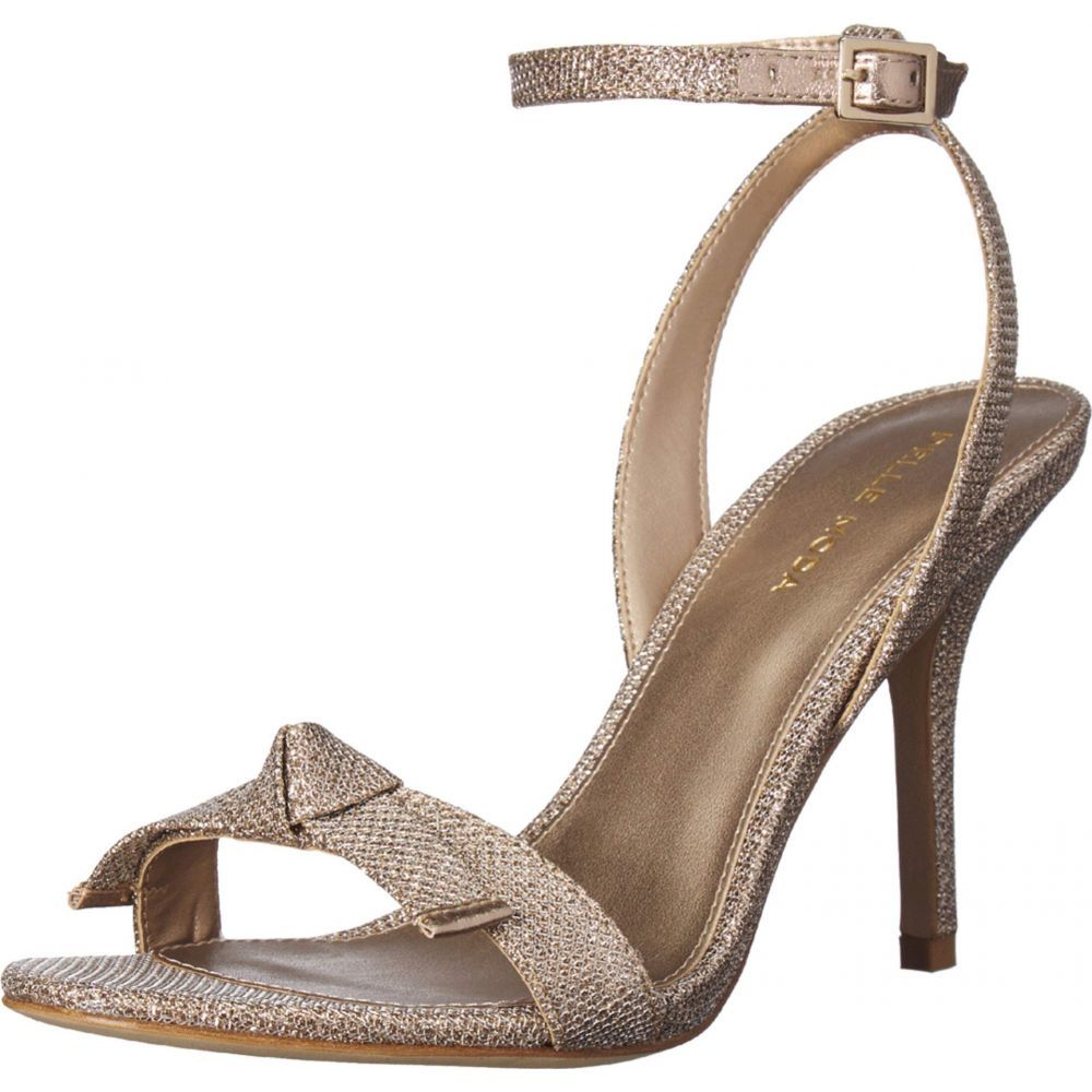 ペレ モーダ Pelle Moda レディース シューズ・靴 サンダル・ミュール【Kim2】Platinum Gold Metallic Textile