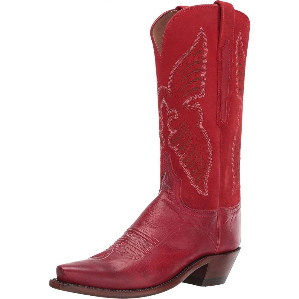 ルケーシー Lucchese レディース シューズ・靴 ブーツ【Evangeline】Merlot/Red