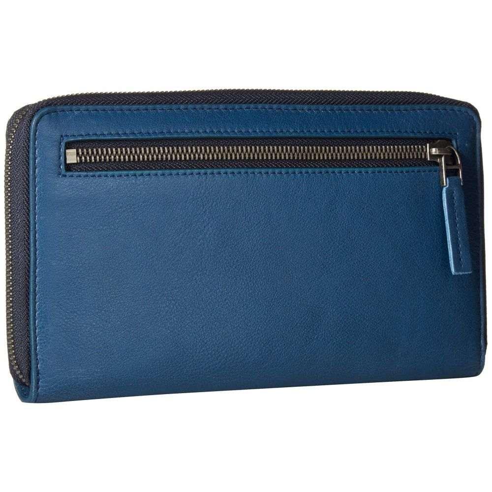 エコー ECCO レディース 財布【Casper Travel Wallet】Retro Blue