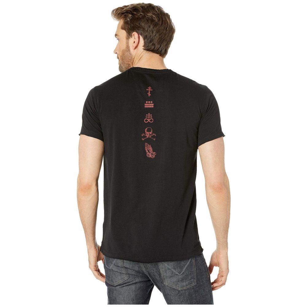 ジョン バルベイトス John Varvatos Star U.S.A. メンズ トップス Tシャツ【ZZ Top Devil KG4279V1B】Black