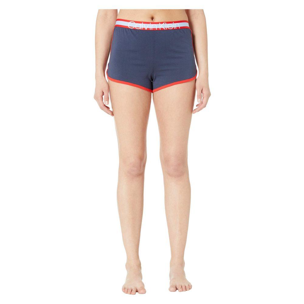 カルバンクライン Calvin Klein Underwear レディース インナー・下着 パジャマ・上下セット【Millenial Pj Set Short Sleeve Short Set】Mood Indigo