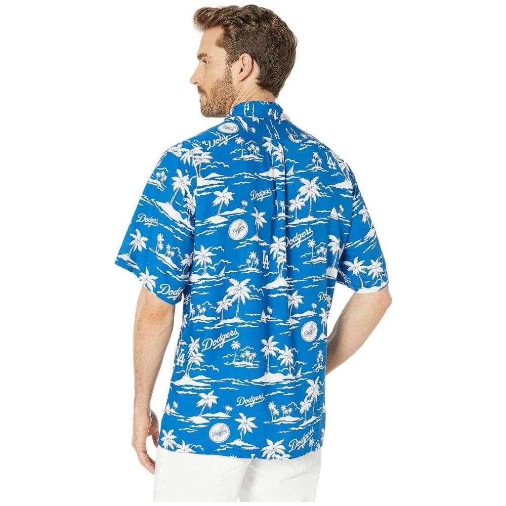 レインスプーナー Reyn Spooner メンズ トップス シャツ【LA Dodgers Vintage Rayon Shirt】Blue