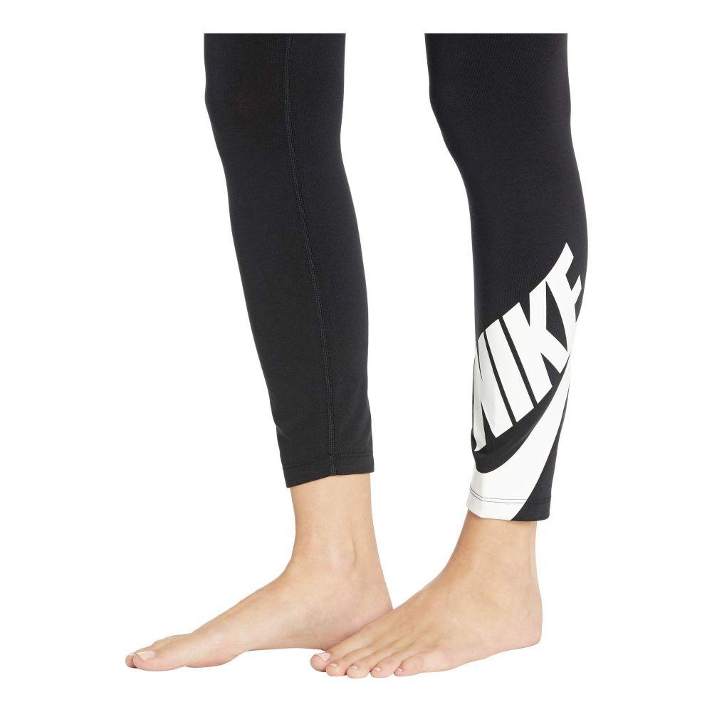 ナイキ Nike レディース インナー・下着 スパッツ・レギンス【Sportswear Legasee Leggings 7/8 Futura】Black/White
