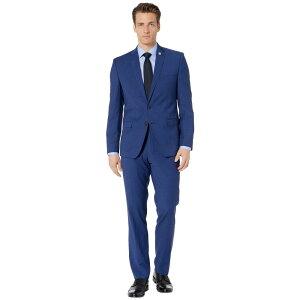 ニック グラハム Nick Graham メンズ アウター スーツ・ジャケット【Blue Check Suit】Blue/Brown