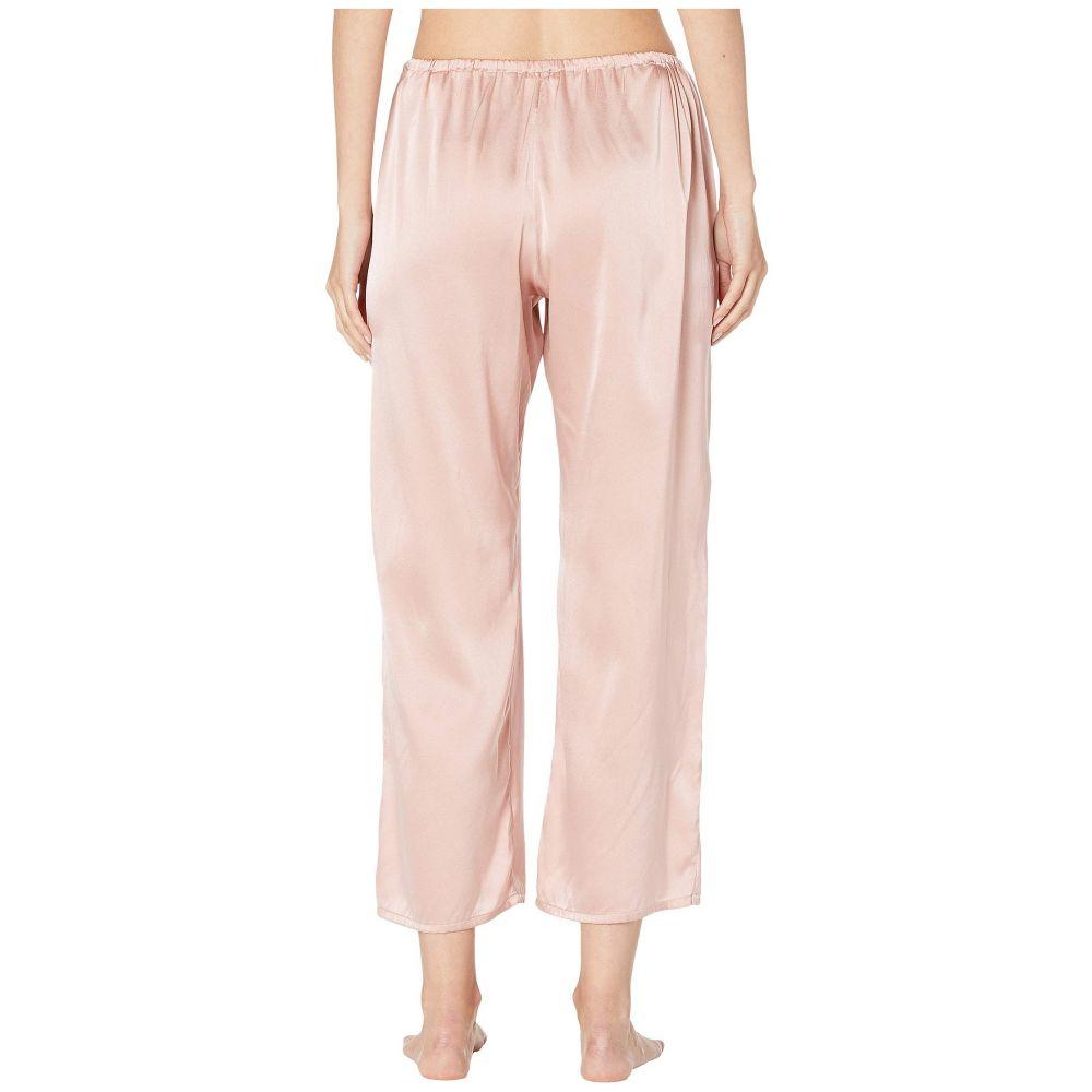 スキン Skin レディース インナー・下着 パジャマ・ボトムのみ【Rosetta Silk Ankle Pants】Rosehip