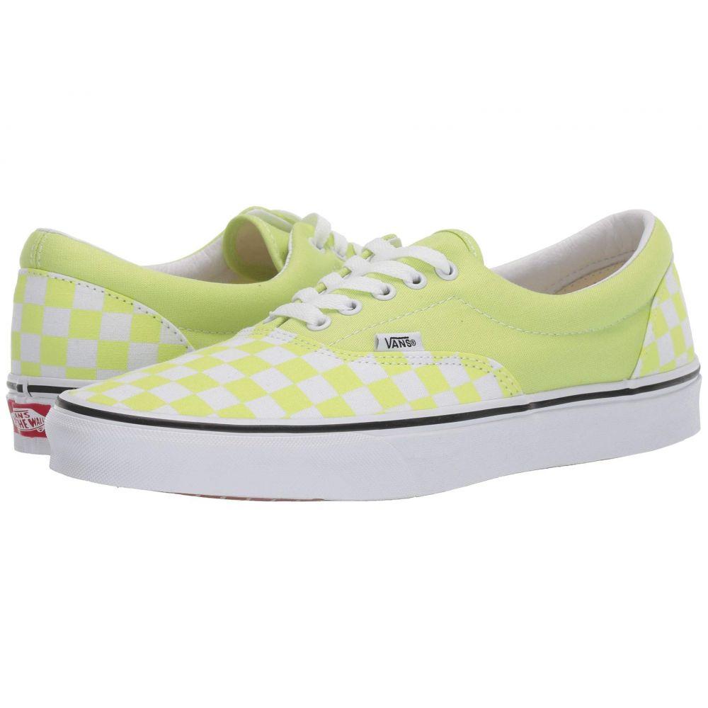 ヴァンズ Vans レディース シューズ・靴【Era(TM)】Checkerboard) Sharp Green/True White