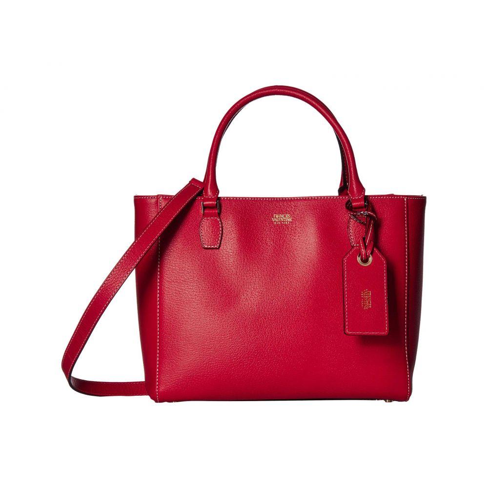 フランシス ヴァレンタイン Frances Valentine レディース バッグ トートバッグ【Olivia Double Handle Tote】Red