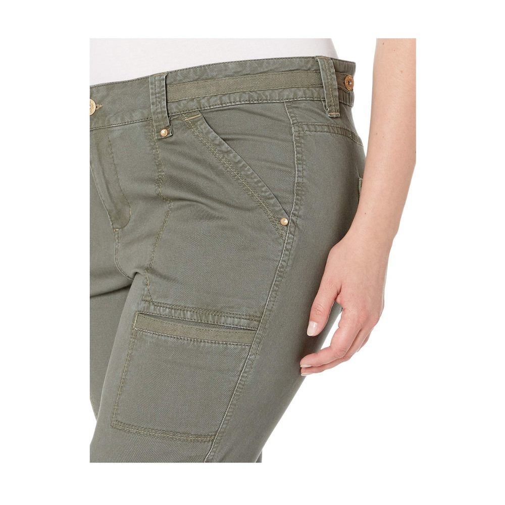 ジャグ ジーンズ Jag Jeans Plus Size レディース ボトムス・パンツ【Plus Size Easton Utility Pants】Jungle Palm