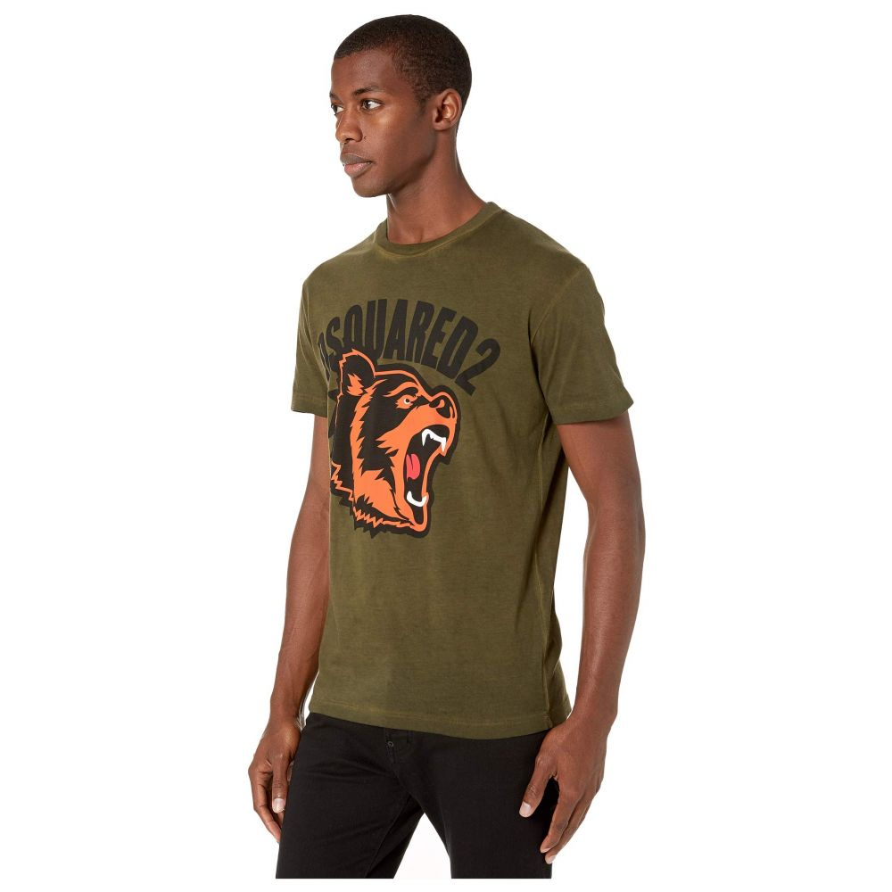 ディースクエアード DSQUARED2 メンズ トップス Tシャツ【Best Fade Cool Fit T-Shirt】Green