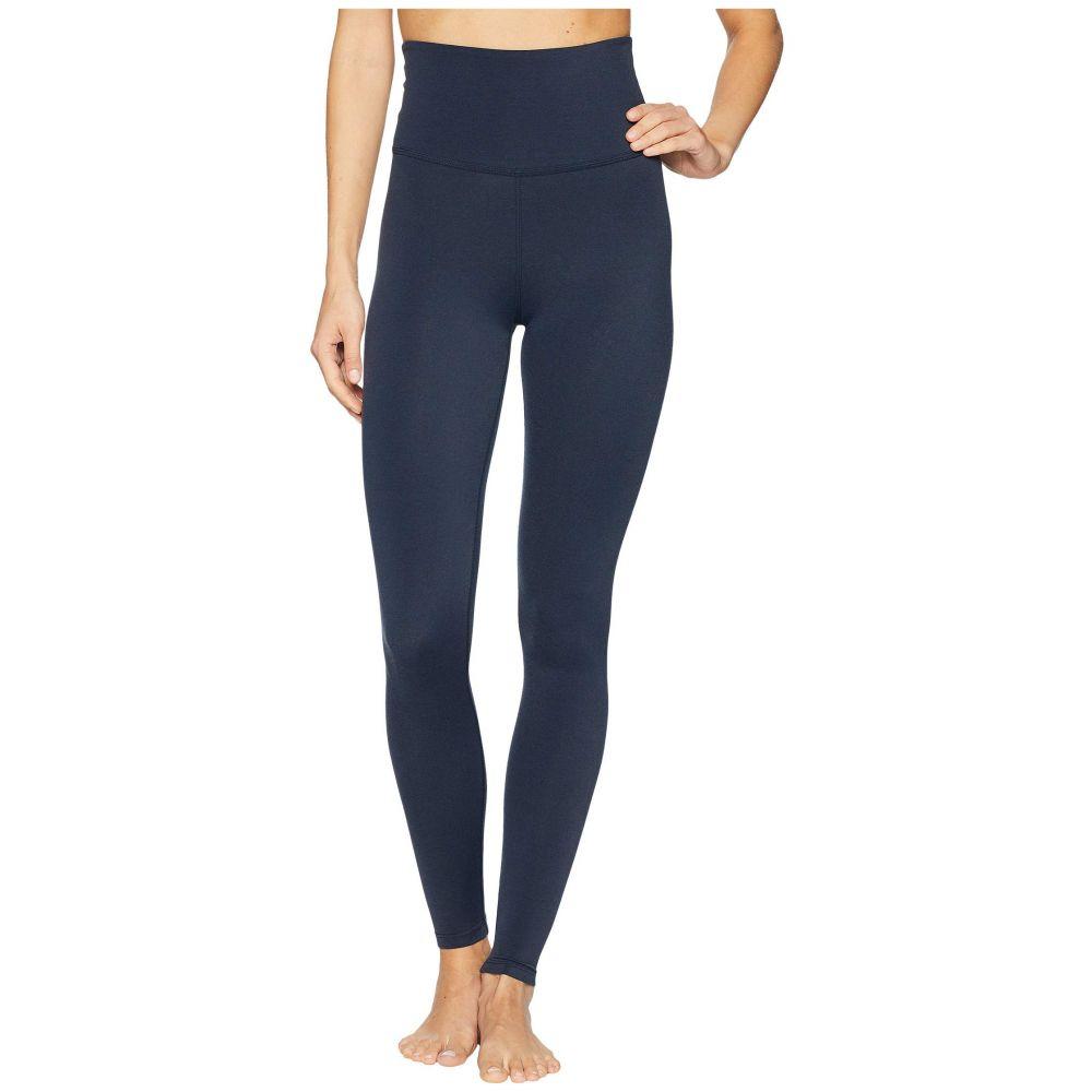 ビヨンドヨガ Beyond Yoga レディース インナー・下着 スパッツ・レギンス【Plush High-Waisted Long Leggings】Nocturnal Navy Heather