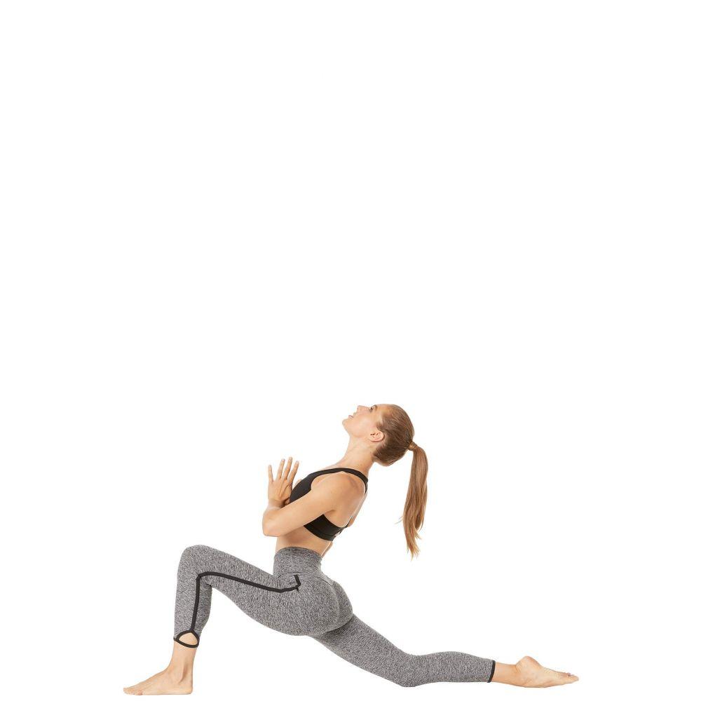 ビヨンドヨガ Beyond Yoga レディース インナー・下着 スパッツ・レギンス【Slip Open High-Waisted Spacedye Midi Leggings】Black/White