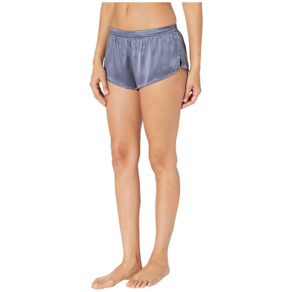 ディストルアンドスパイア Thistle & Spire レディース インナー・下着 パジャマ・ボトムのみ【Silk Classic Shorts】Graphite