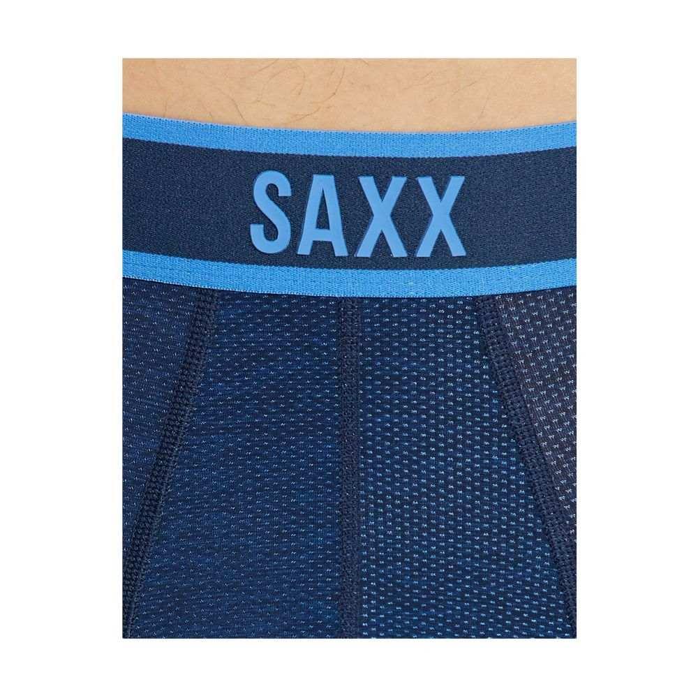 サックス SAXX UNDERWEAR メンズ インナー・下着 ボクサーパンツ【Kinetic Boxer】Blue Cross-Dye