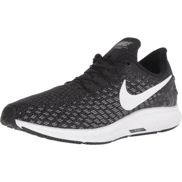 ナイキ Nike メンズ ランニング・ウォーキング エアズーム シューズ・靴【FlyEase Air Zoom Pegasus 35】Black/White/Gunsmoke/Oil Grey