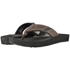 ダナム Dunham メンズ ビーチサンダル シューズ・靴【Carter Flip-Flop】Brown