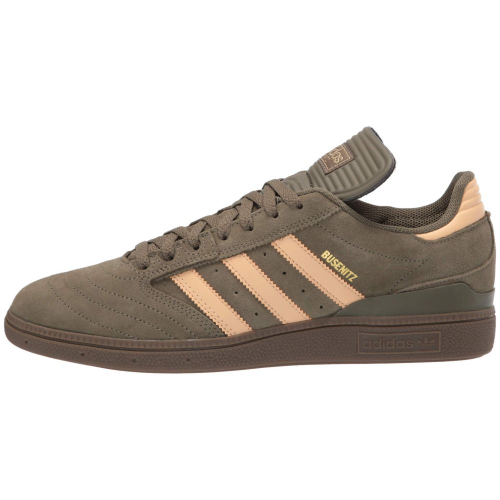 adidas Skateboarding Busenitz Raw Khaki//Glow Orange//Footwear White 12.5