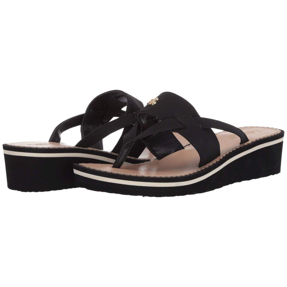 ラルフローレンLAURENRalphLaurenレディースサンダル・ミュールウェッジソールシューズ・靴【RosalindWedge】Black