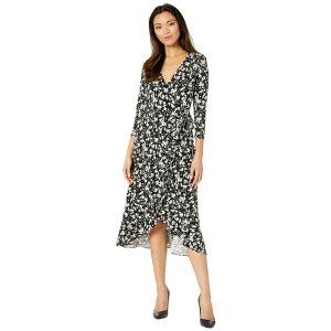 ラルフ ローレン LAUREN Ralph Lauren レディース ワンピース ワンピース・ドレス【High-Low Jersey Dress】Polo Black/Silk White