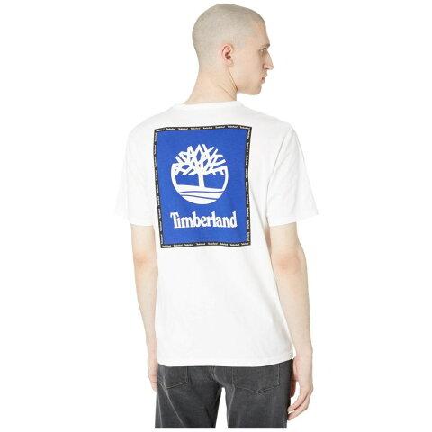 ティンバーランド Timberland メンズ Tシャツ ロゴTシャツ トップス【Short Sleeve Box Logo Graphic Tee】White