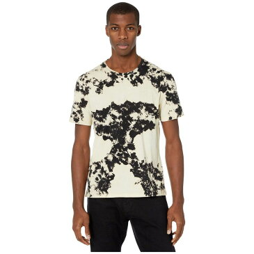 ジョン バルベイトス John Varvatos Star U.S.A. メンズ Tシャツ トップス【Tompkins Tie-Dye Crew K4855W1B】Mineral Black