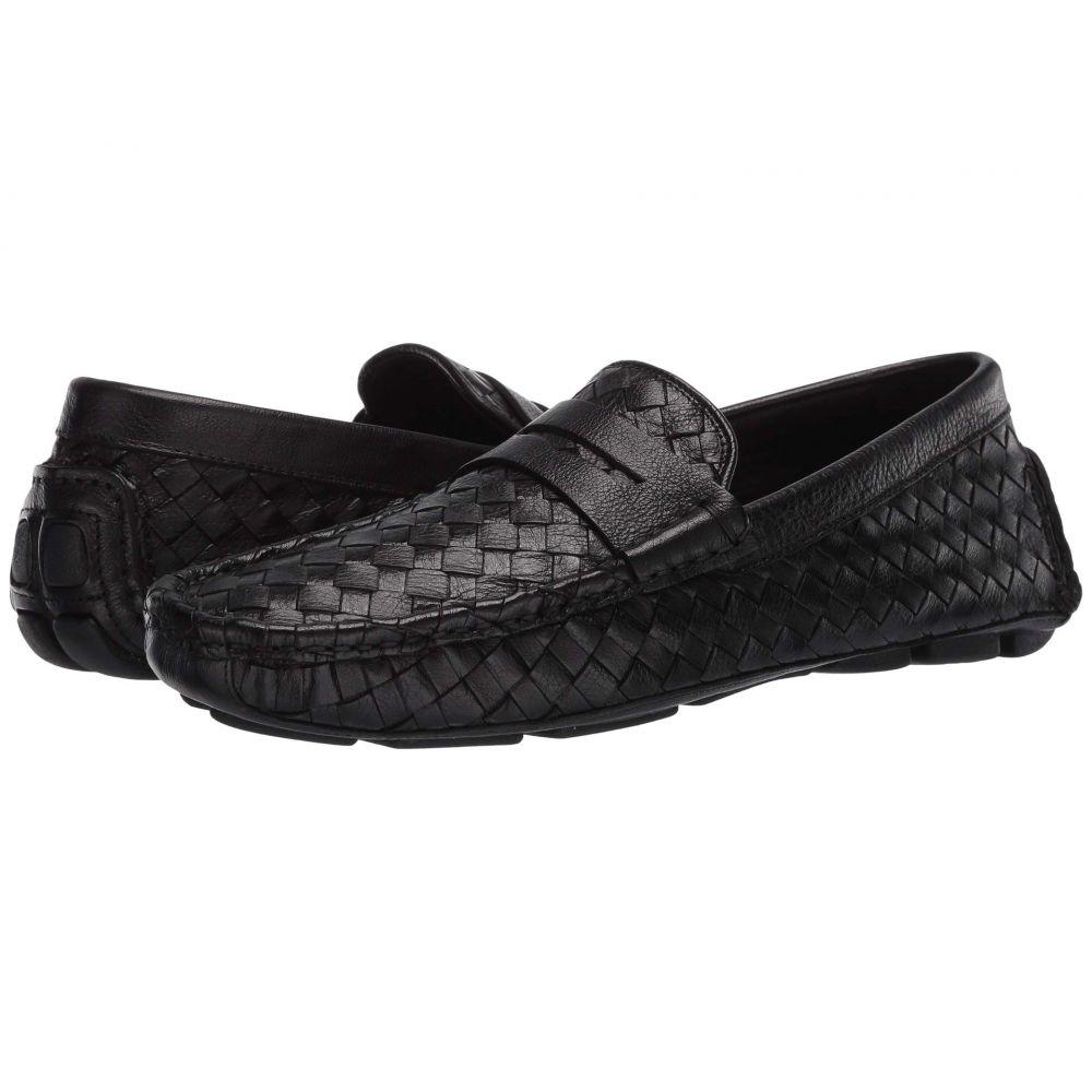 メンズ靴, ローファー  Trask RowanBlack Italian Buffalo Calfskin