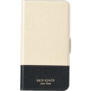 ケイト スペード Kate Spade New York レディース iPhoneケース 【Spencer Magnetic Folio for iPhone 11 Pro Max】Warm Beige/Black