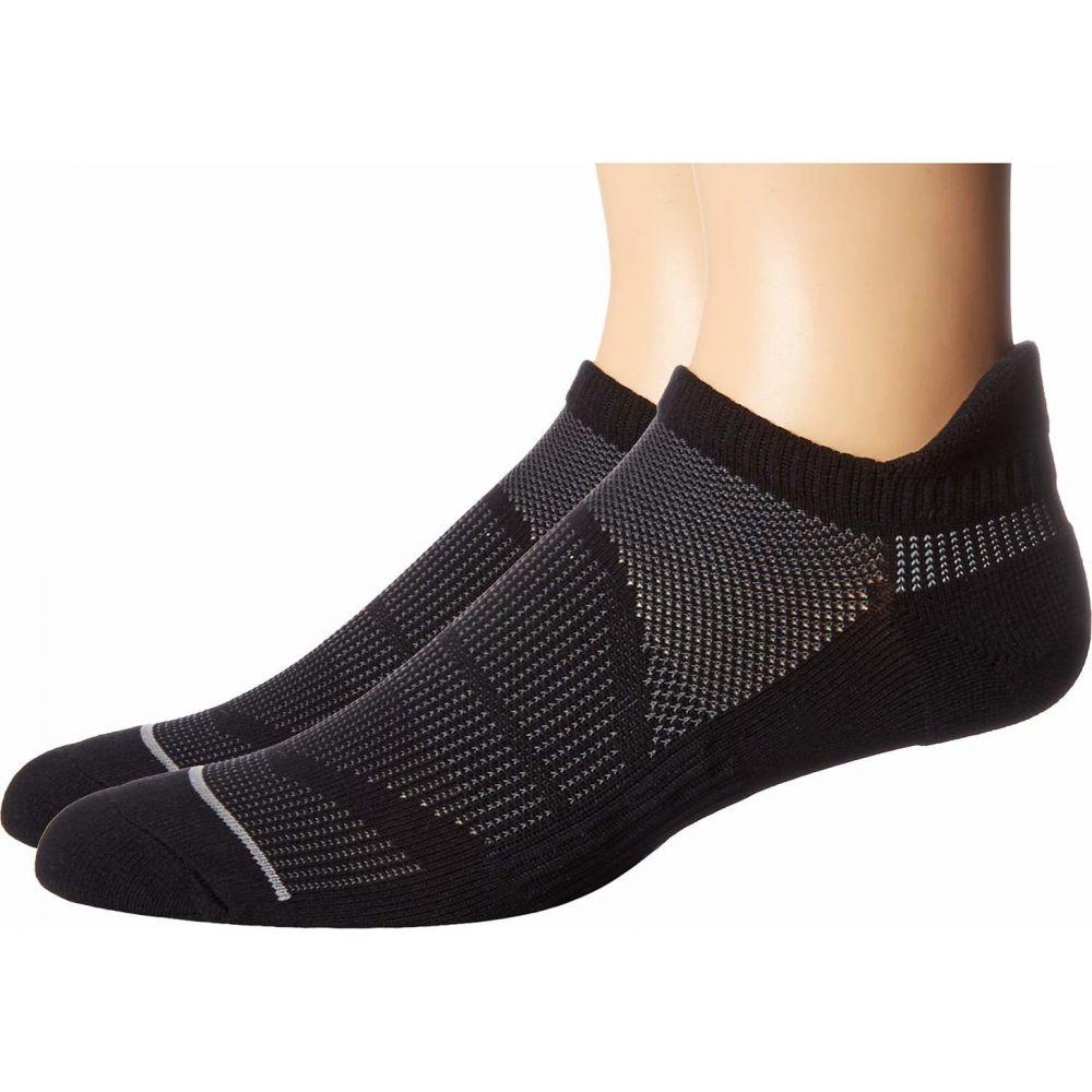 靴下・レッグウェア, 靴下  adidas 2 Superlite Prime Mesh III Tabbed No Show Socks 2-PackBlackOnixLight Onix