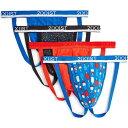 ツーイグジスト 2(X)IST メンズ ブリーフ インナー・下着【Bonus Pack 3+1 Stretch Jock Strap】Lapis/Festive Dot/Poppy/Americana Pop