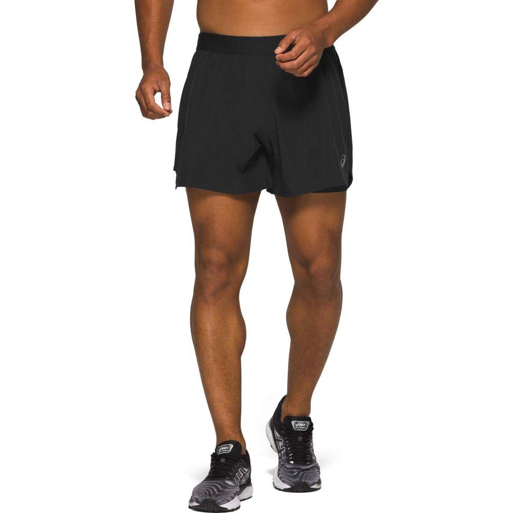 メンズファッション, ズボン・パンツ  ASICS Road 2-in-1 5 ShortsPerformance Black
