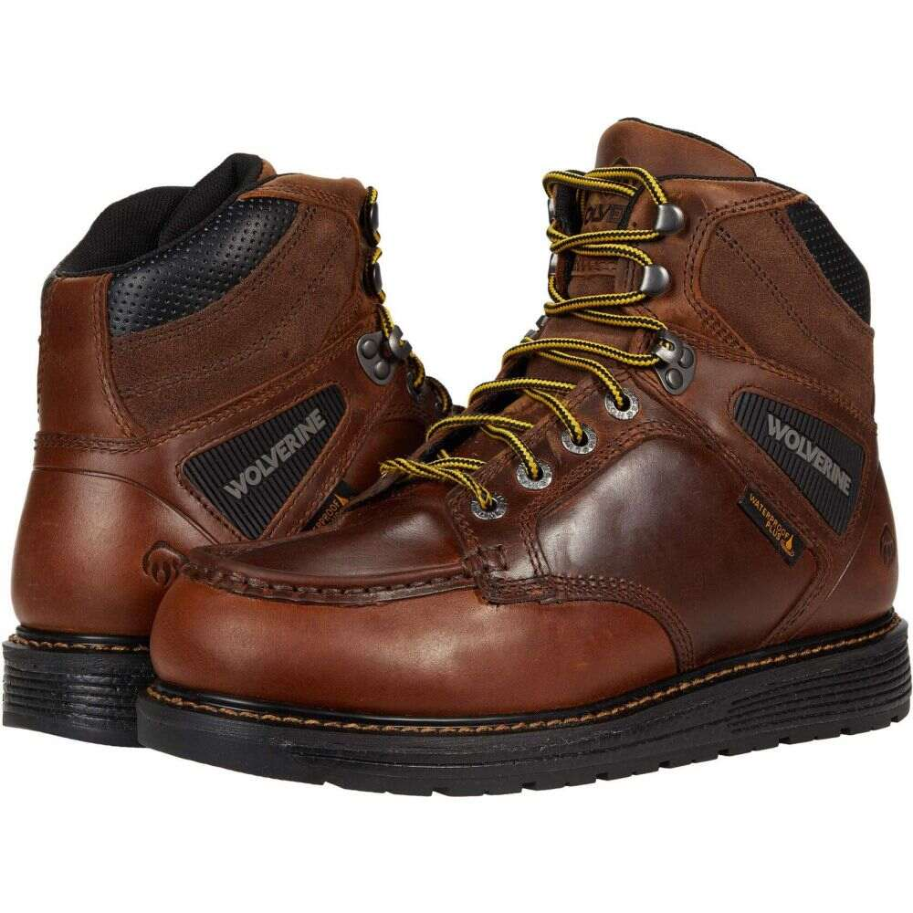 ブーツ, その他  Wolverine Hellcat Wedge Moc Toe 6 WaterproofConker