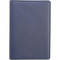 ロイズ ROYCE New York レディース パスポートケース 【Leather RFID Blocking Passport Case】Navy Blue