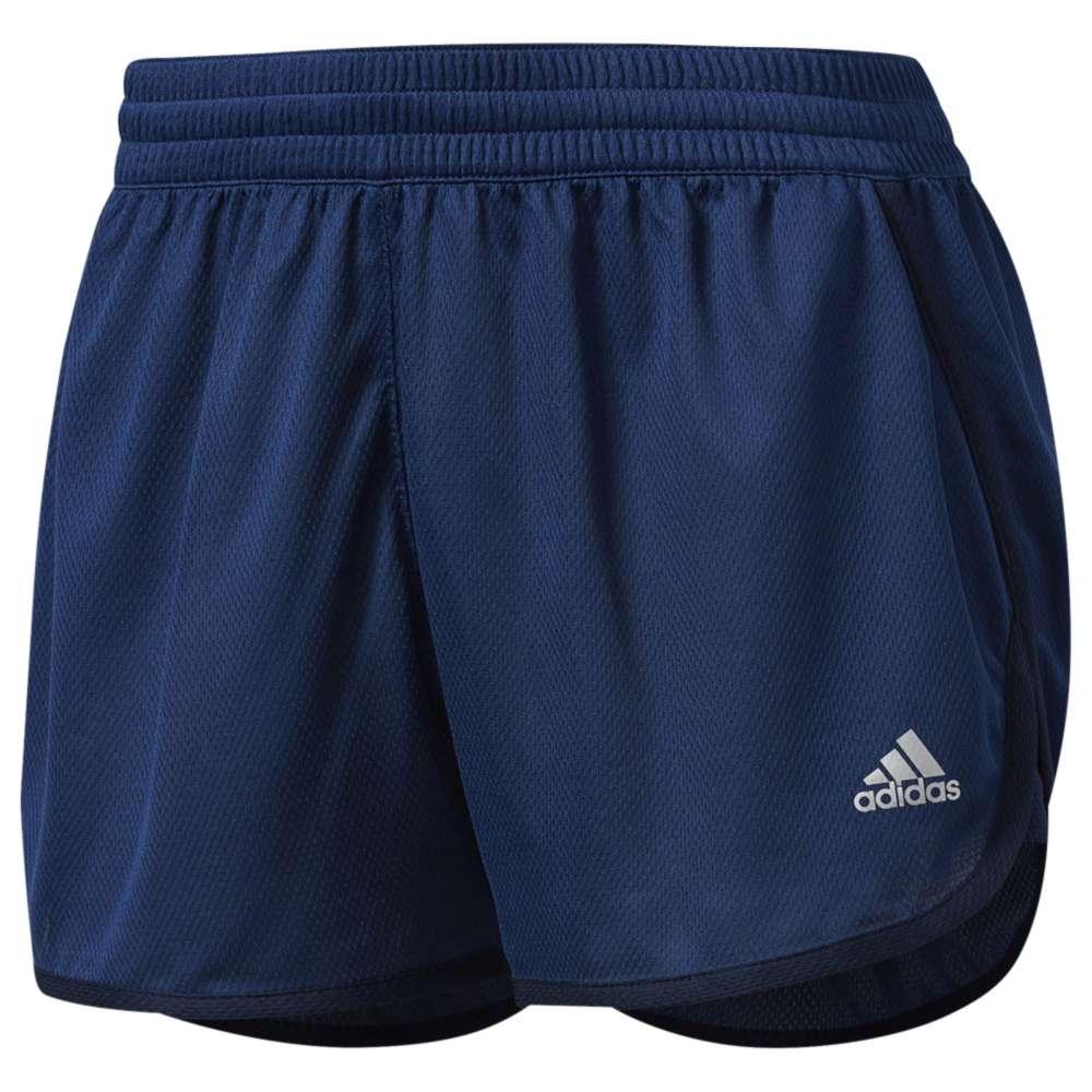 アディダス レディース フィットネス・トレーニング ボトムス・パンツ【adidas Dash Shorts】Mystery Blue/Collegiate Navy
