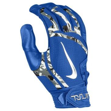 ナイキ メンズ 野球 グローブ【Trout Elite Batting Gloves】Game Royal/Game Royal/Chrome