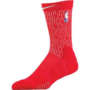 ナイキ ユニセックス バスケットボール【NBA Elite Quick Crew Socks】University Red/White