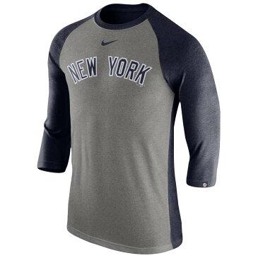 ナイキ メンズ トップス 長袖Tシャツ【MLB 3/4 Raglan T-Shirt】Multi