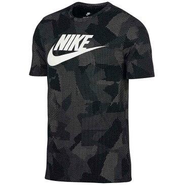 ナイキ メンズ トップス ノースリーブ【Plus Print T-Shirt】Black/White