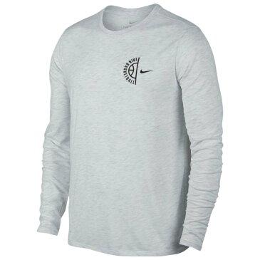 ナイキ Nike メンズ トップス 長袖Tシャツ【Heathers L/S T-Shirt】Birch Heather