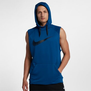 ナイキ Nike メンズ トップス ノースリーブ【Lightweight Sleeveless Hoodie】Gym Blue/Black