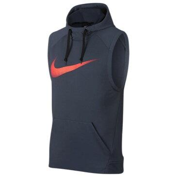 ナイキ Nike メンズ トップス ノースリーブ【Lightweight Sleeveless Hoodie】Thunder Blue/Hyper Crimson
