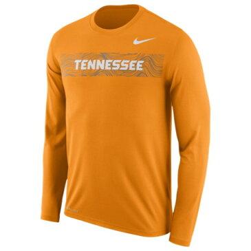 ナイキ Nike メンズ トップス 長袖Tシャツ【College Sideline Legend Seismic L/S Shirt】Orange