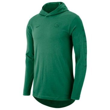 ナイキ Nike メンズ トップス 長袖Tシャツ【NBA L/S Hoodie T-Shirt】Clover